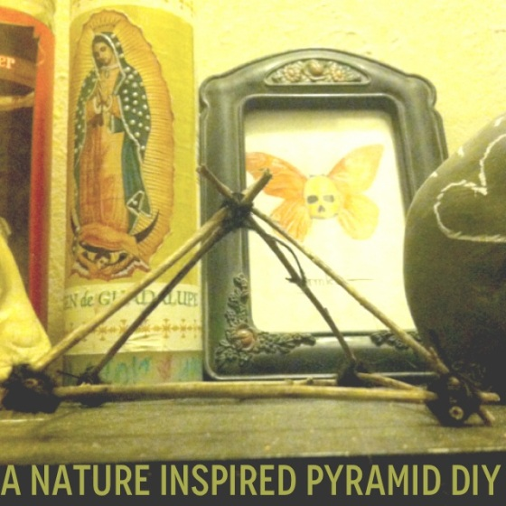 nature pyramid diy